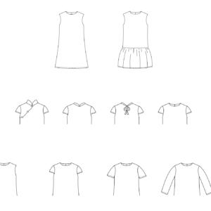 Laure qipao jurk (Nederlands)